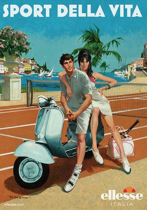 Tennis Vespa