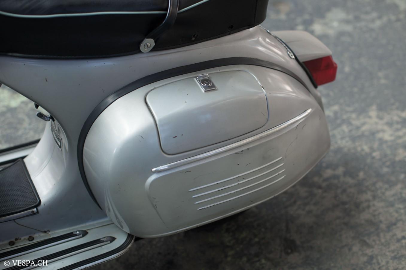 Vespa GTR 125, wie Vespa TS, Vespa Rally, Vespa SS 180, O-Lack, Original - VE8PA.CH - (29 von 66)