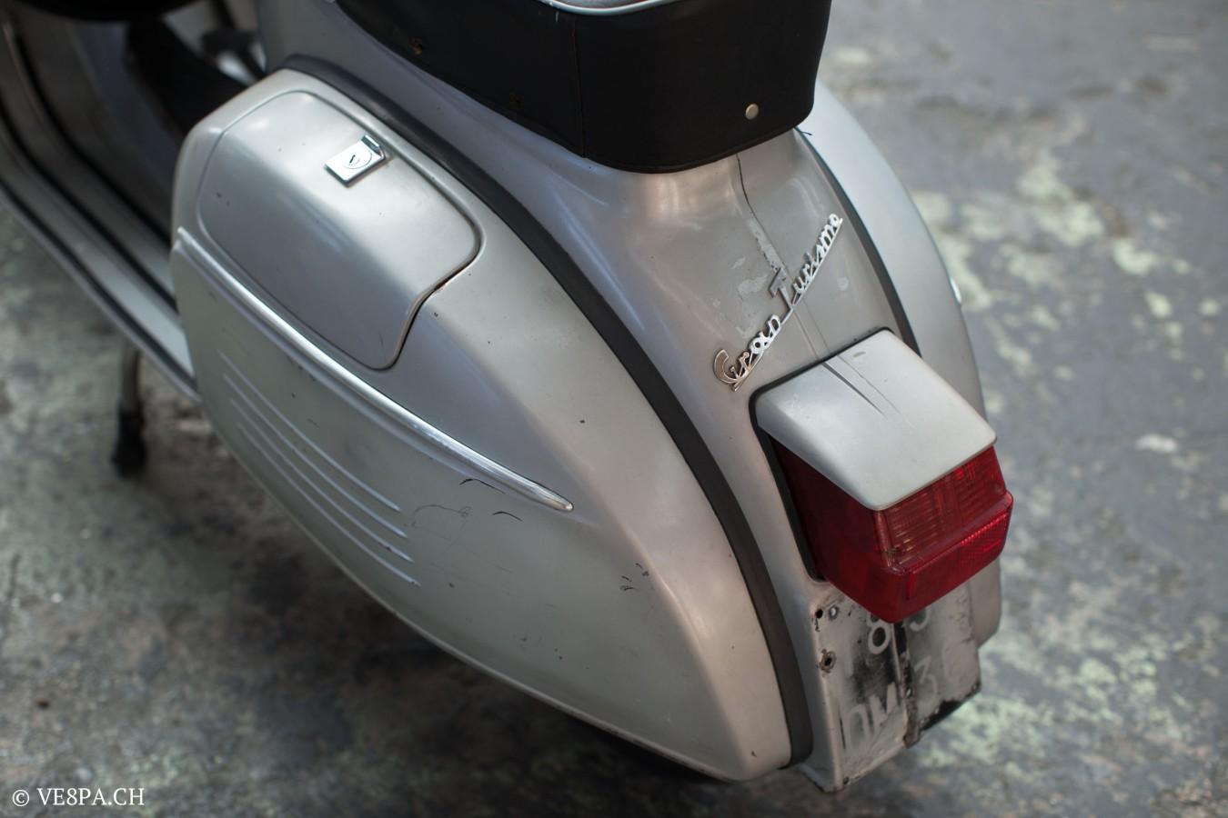 Vespa GTR 125, wie Vespa TS, Vespa Rally, Vespa SS 180, O-Lack, Original - VE8PA.CH - (30 von 66)