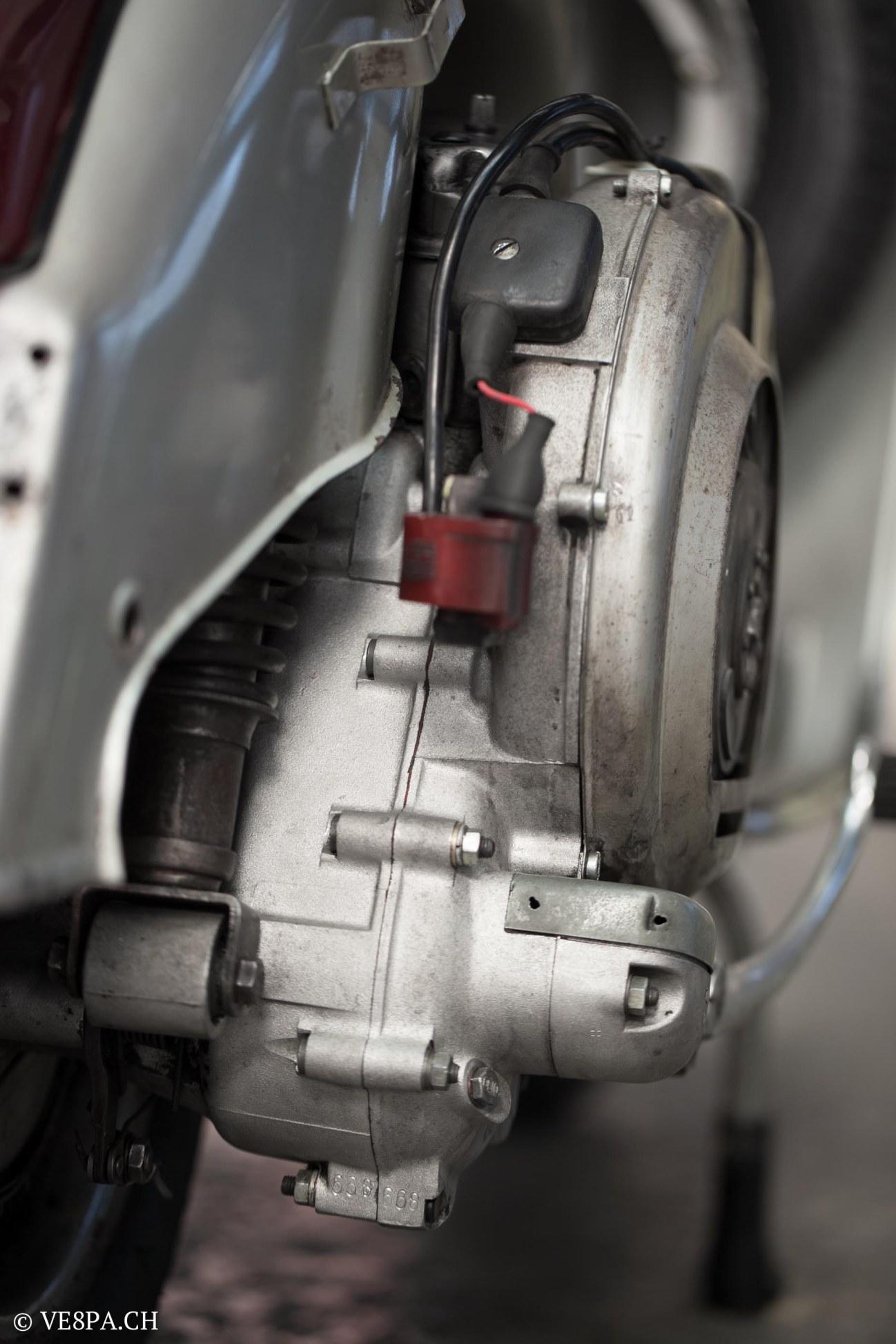 Vespa GTR 125, wie Vespa TS, Vespa Rally, Vespa SS 180, O-Lack, Original - VE8PA.CH - (42 von 66)
