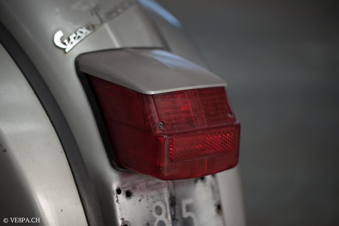 Vespa GTR 125, wie Vespa TS, Vespa Rally, Vespa SS 180, O-Lack, Original - VE8PA.CH - (45 von 66)