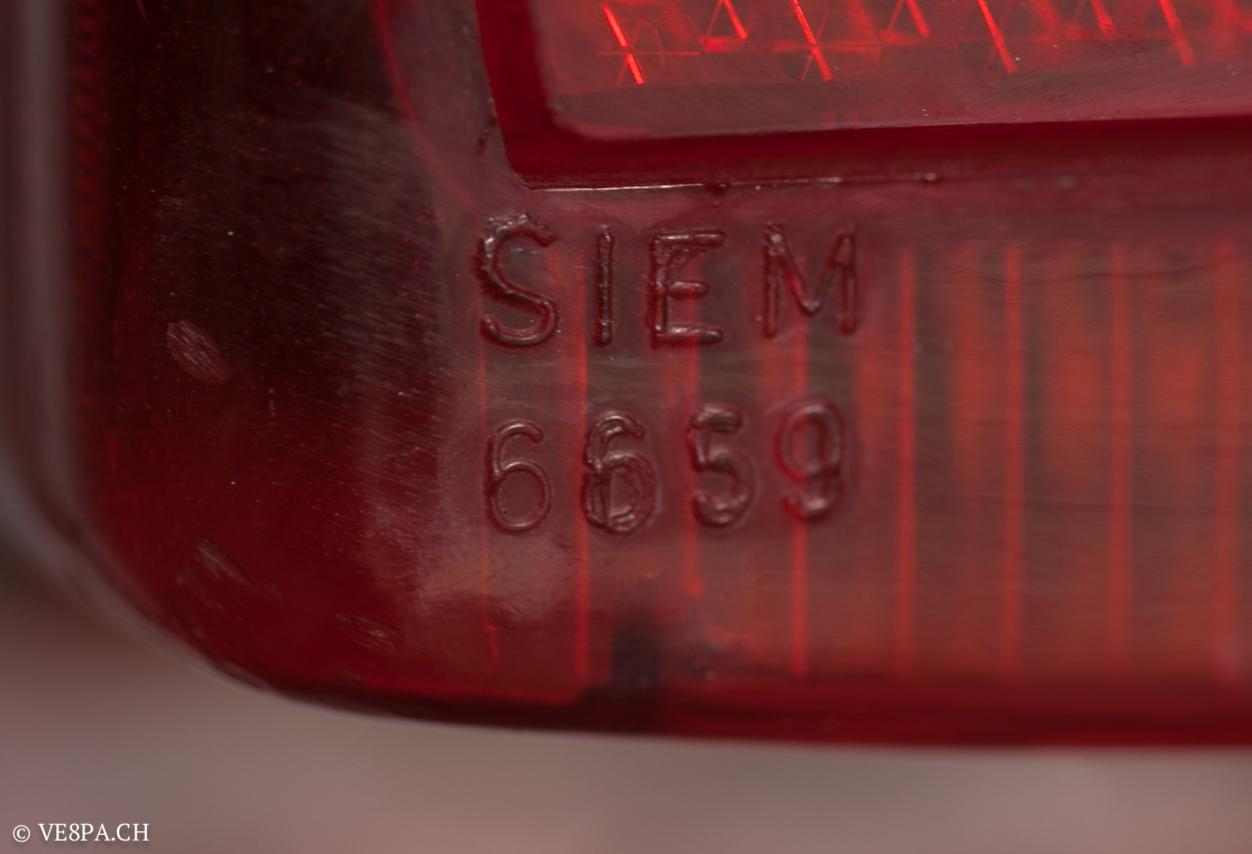 Vespa GTR 125, wie Vespa TS, Vespa Rally, Vespa SS 180, O-Lack, Original - VE8PA.CH - (46 von 66)