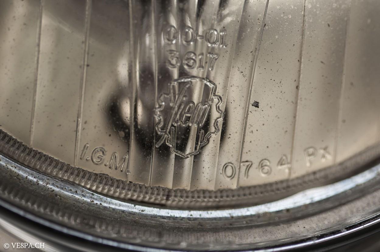 Vespa GTR 125, wie Vespa TS, Vespa Rally, Vespa SS 180, O-Lack, Original - VE8PA.CH - (55 von 66)
