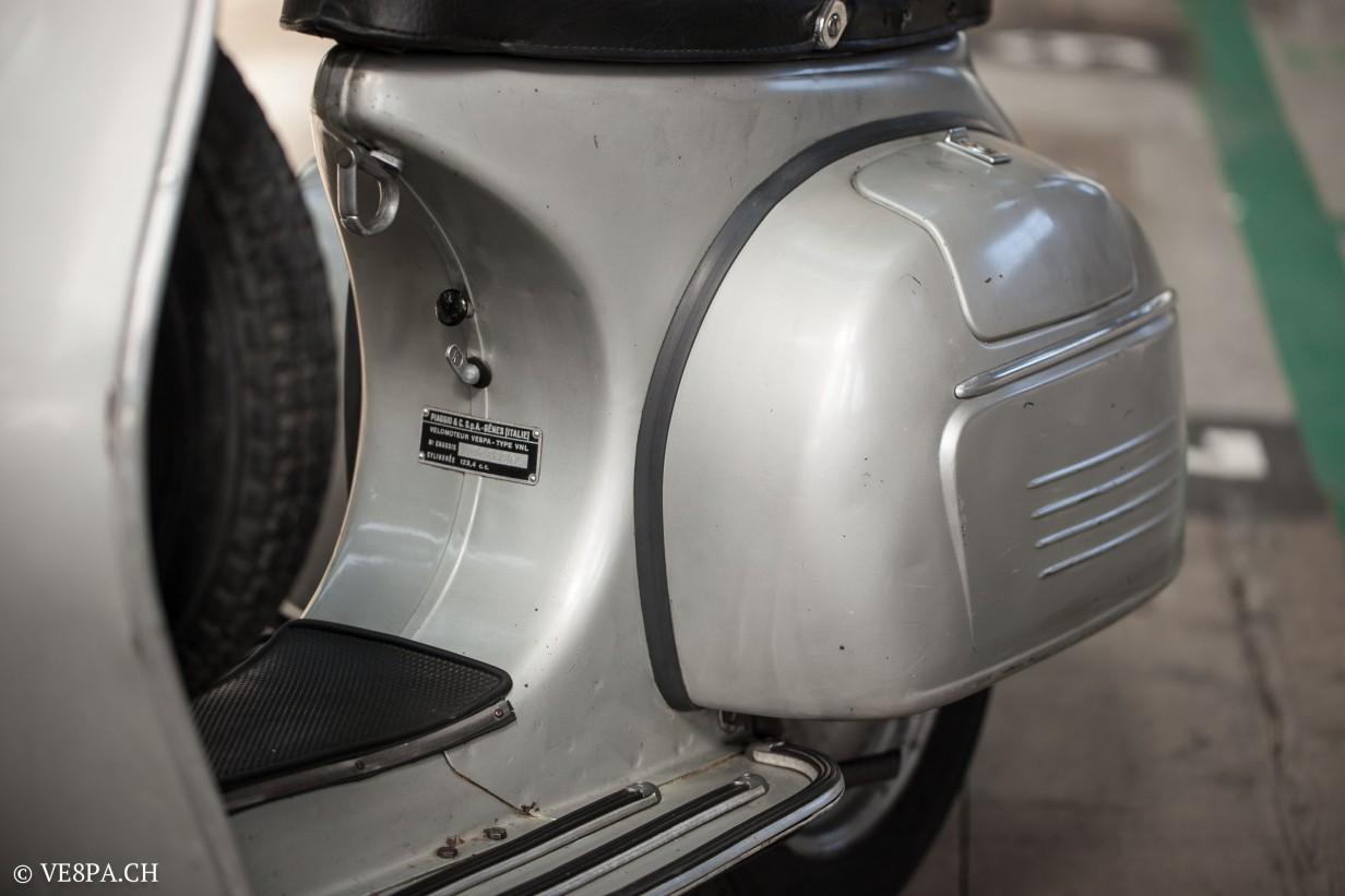Vespa GTR 125, wie Vespa TS, Vespa Rally, Vespa SS 180, O-Lack, Original - VE8PA.CH - (58 von 66)