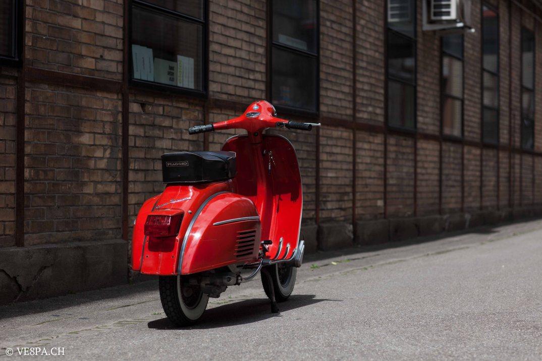 Vespa GTR (Gran Turismo) 125, Rosso Corallo, Jg. 1972, im O-Lack, original Zustand - VE8PA.CH-1-9