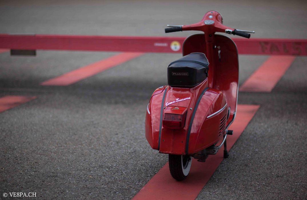 Vespa GTR (Gran Turismo) 125, Rosso Corallo, Jg. 1972, im O-Lack, original Zustand - VE8PA.CH-108