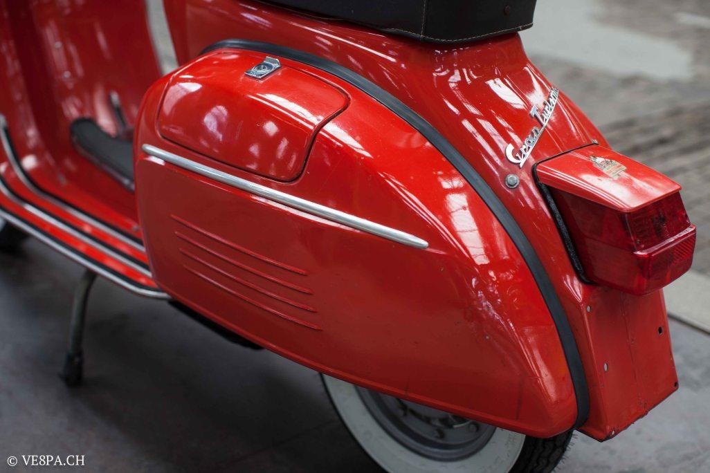 Vespa GTR (Gran Turismo) 125, Rosso Corallo, Jg. 1972, im O-Lack, original Zustand - VE8PA.CH-37