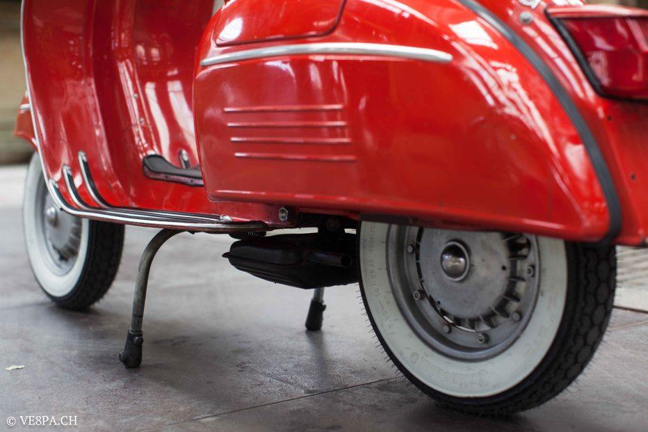 Vespa GTR (Gran Turismo) 125, Rosso Corallo, Jg. 1972, im O-Lack, original Zustand - VE8PA.CH-38