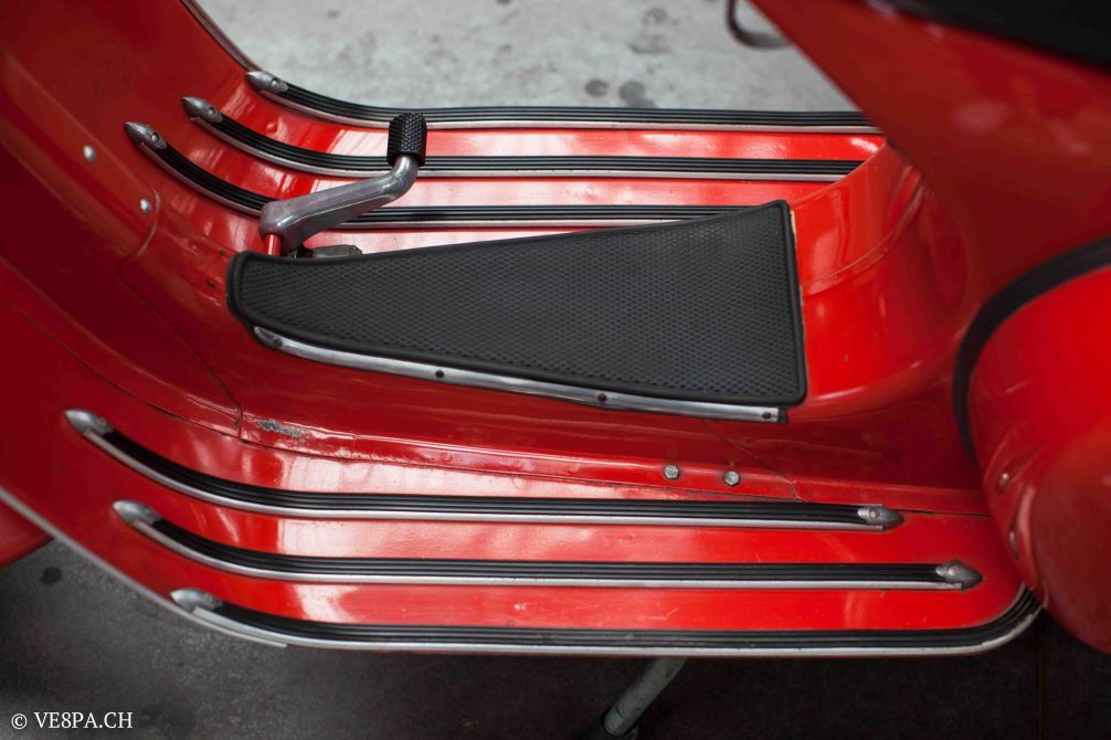 Vespa GTR (Gran Turismo) 125, Rosso Corallo, Jg. 1972, im O-Lack, original Zustand - VE8PA.CH-39