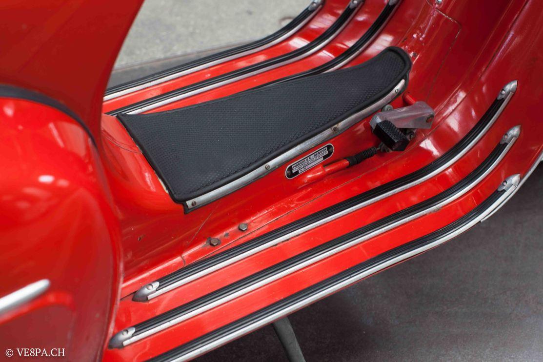 Vespa GTR (Gran Turismo) 125, Rosso Corallo, Jg. 1972, im O-Lack, original Zustand - VE8PA.CH-40