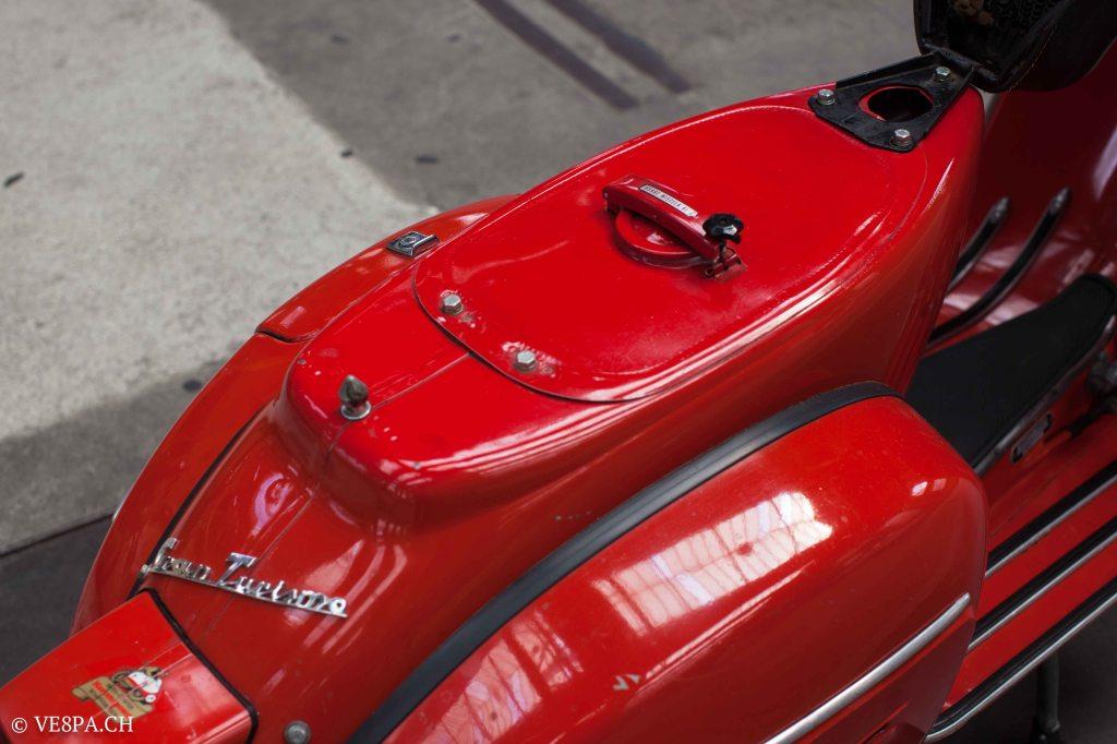 Vespa GTR (Gran Turismo) 125, Rosso Corallo, Jg. 1972, im O-Lack, original Zustand - VE8PA.CH-44