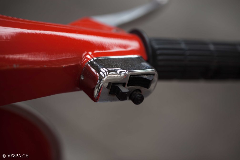 Vespa GTR (Gran Turismo) 125, Rosso Corallo, Jg. 1972, im O-Lack, original Zustand - VE8PA.CH-56