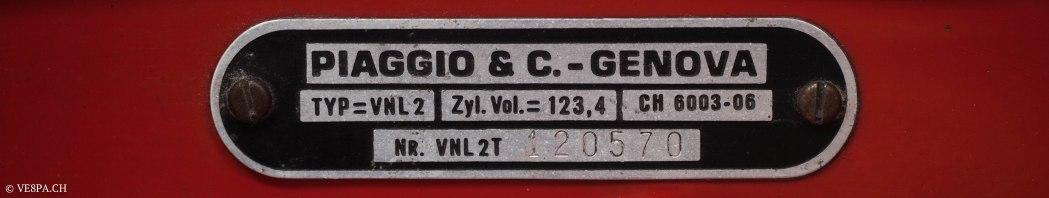 Vespa GTR (Gran Turismo) 125, Rosso Corallo, Jg. 1972, im O-Lack, original Zustand - VE8PA.CH-70