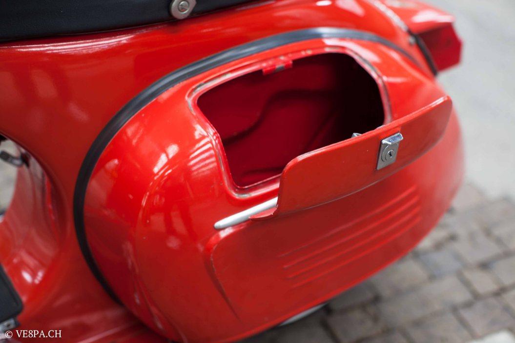Vespa GTR (Gran Turismo) 125, Rosso Corallo, Jg. 1972, im O-Lack, original Zustand - VE8PA.CH-83