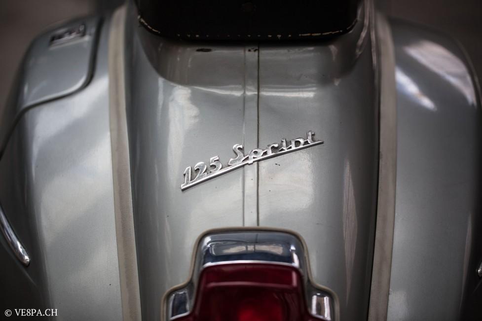 Vespa Sprint GT 125 1969, im O-Lack, original Zustand, wie Vespa SS 180 - VE8PA.CH-46