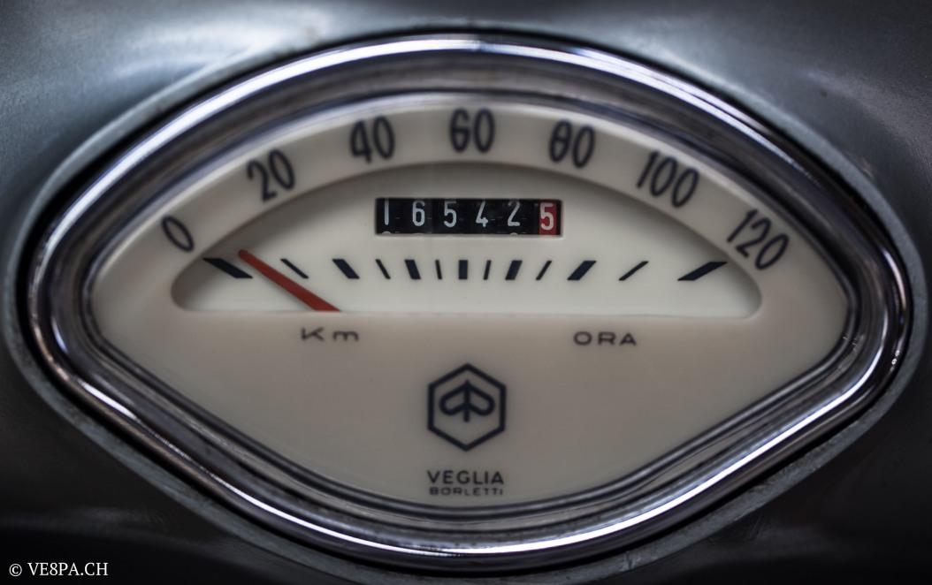 Vespa Sprint GT 125 1969, im O-Lack, original Zustand, wie Vespa SS 180 - VE8PA.CH-52