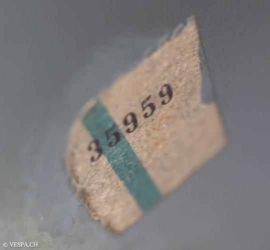 Vespa Sprint GT 125 1969, im O-Lack, original Zustand, wie Vespa SS 180 - VE8PA.CH-58