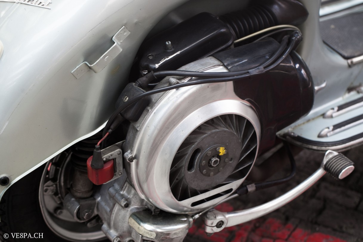 Vespa Sprint GT 125 1969, im O-Lack, original Zustand, wie Vespa SS 180 - VE8PA.CH-69
