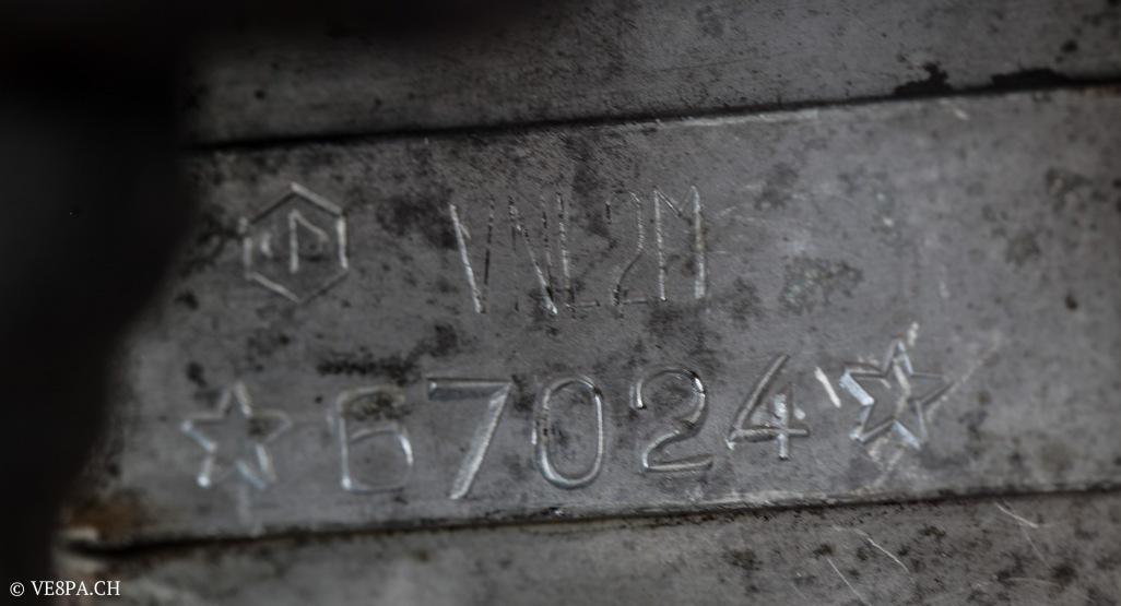 Vespa Sprint GT 125 1969, im O-Lack, original Zustand, wie Vespa SS 180 - VE8PA.CH-73