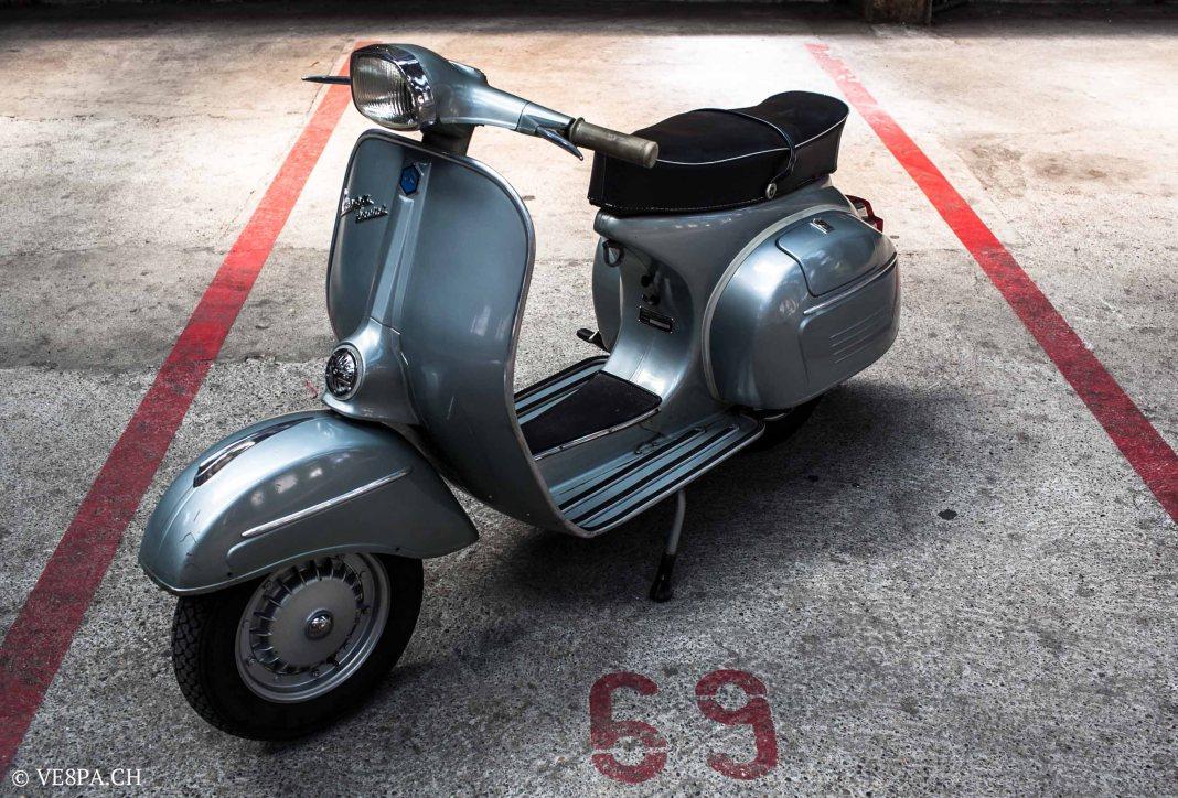 Vespa Sprint GT 125 1969, im O-Lack, original Zustand, wie Vespa SS 180 - VE8PA.CH-79