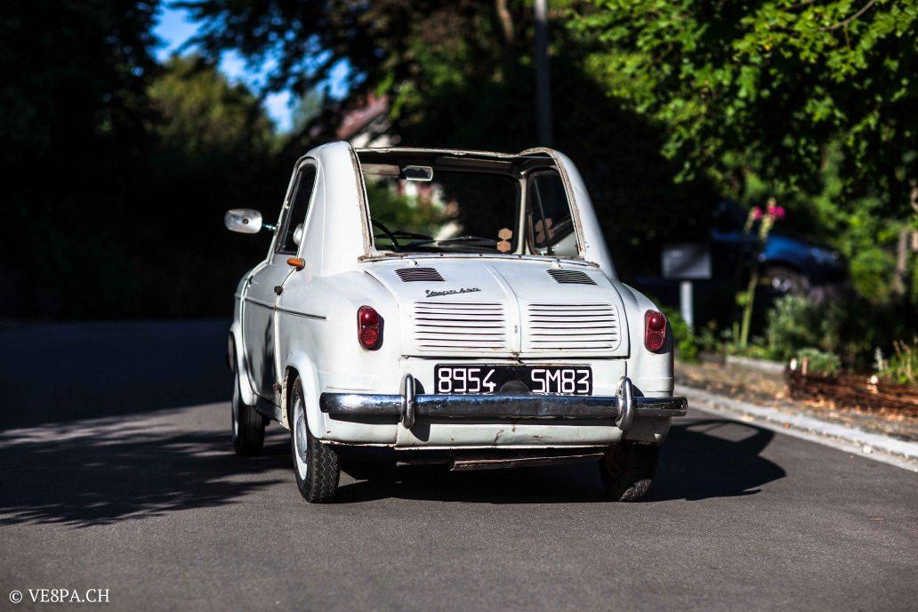 Vespa ACMA 400, 1958, O-Lack, Erstserie, www.VE8PA.CH-1-7