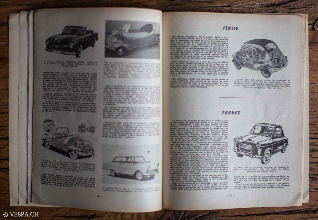 Vespa ACMA 400, 1958, O-Lack, Erstserie, www.VE8PA.CH-105