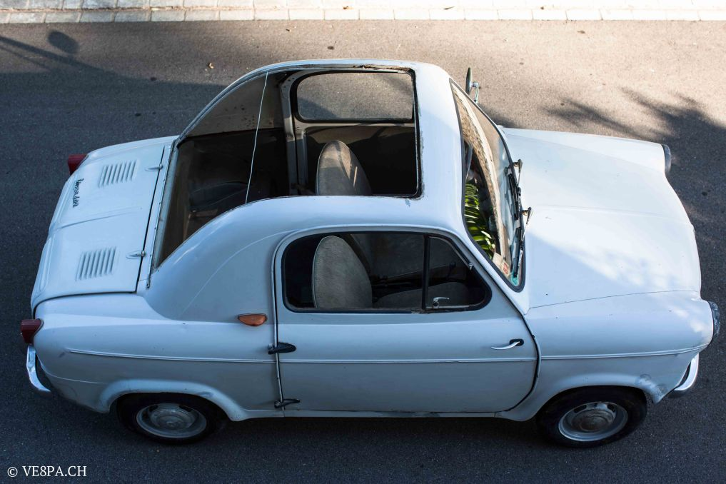 Vespa ACMA 400, 1958, O-Lack, Erstserie, www.VE8PA.CH-25