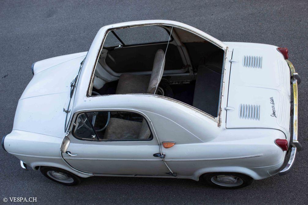 Vespa ACMA 400, 1958, O-Lack, Erstserie, www.VE8PA.CH-26