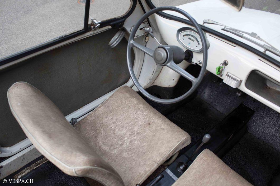 Vespa ACMA 400, 1958, O-Lack, Erstserie, www.VE8PA.CH-3