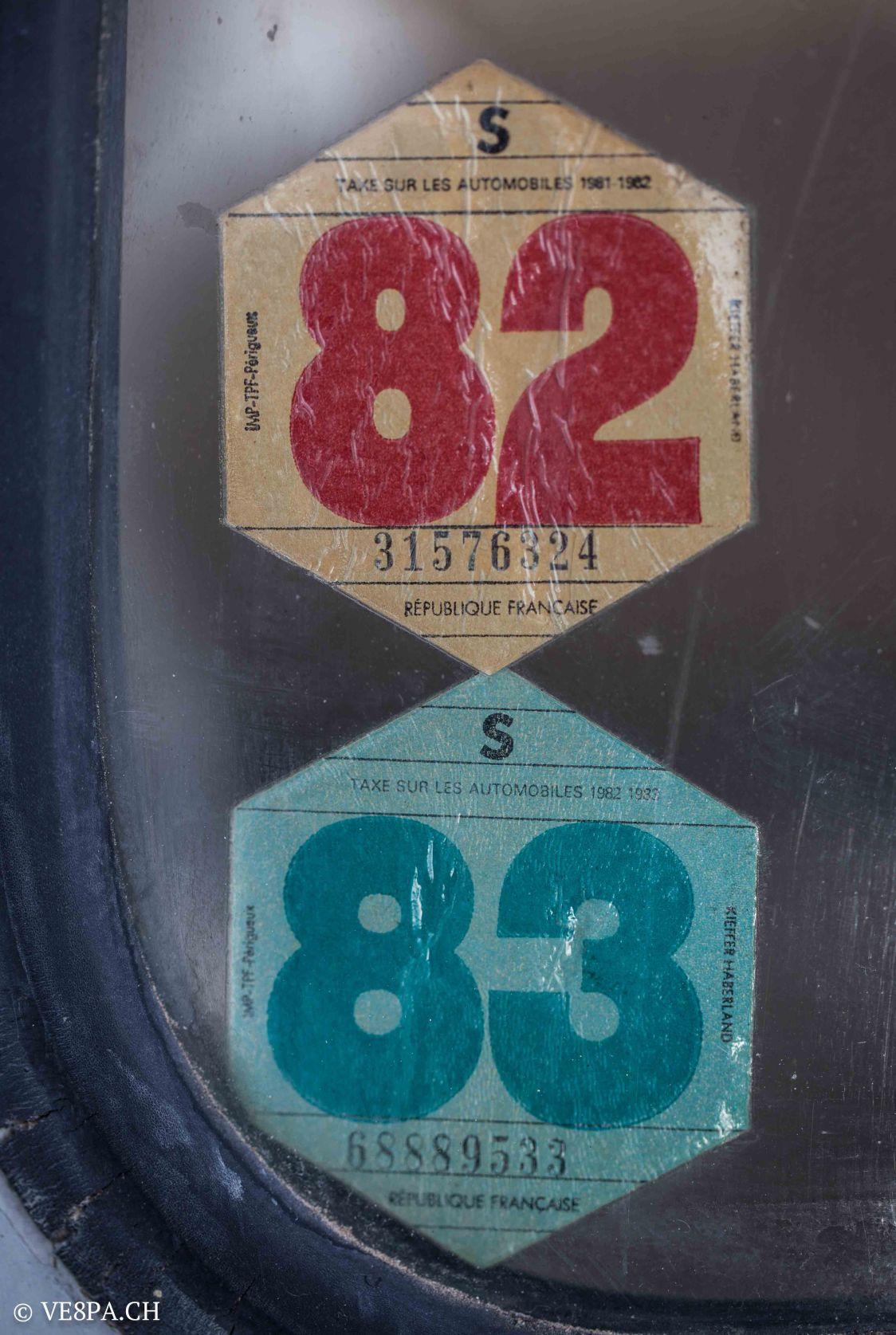 Vespa ACMA 400, 1958, O-Lack, Erstserie, www.VE8PA.CH-34
