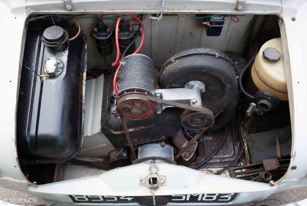 Vespa ACMA 400, 1958, O-Lack, Erstserie, www.VE8PA.CH-39