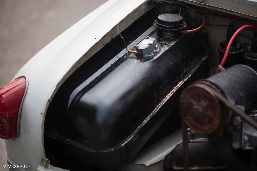 Vespa ACMA 400, 1958, O-Lack, Erstserie, www.VE8PA.CH-44