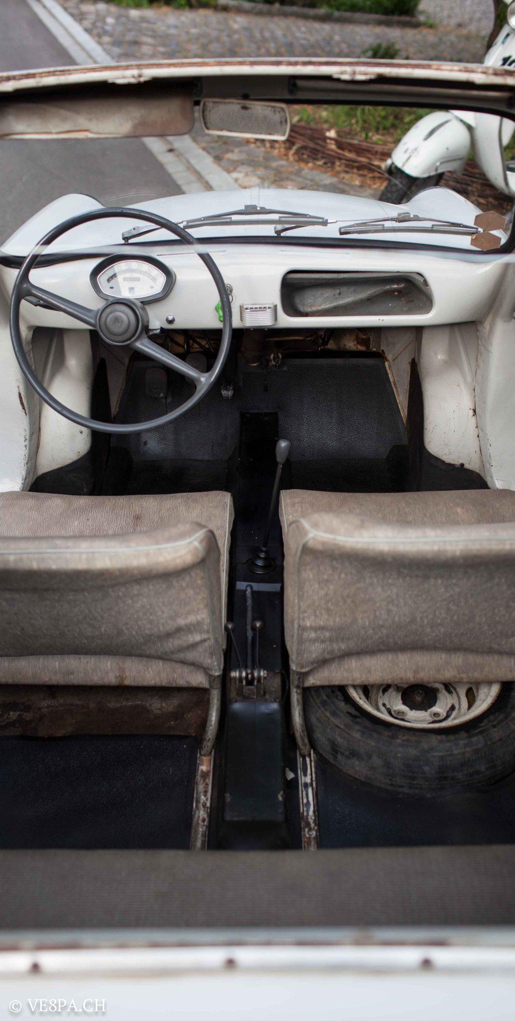 Vespa ACMA 400, 1958, O-Lack, Erstserie, www.VE8PA.CH-51