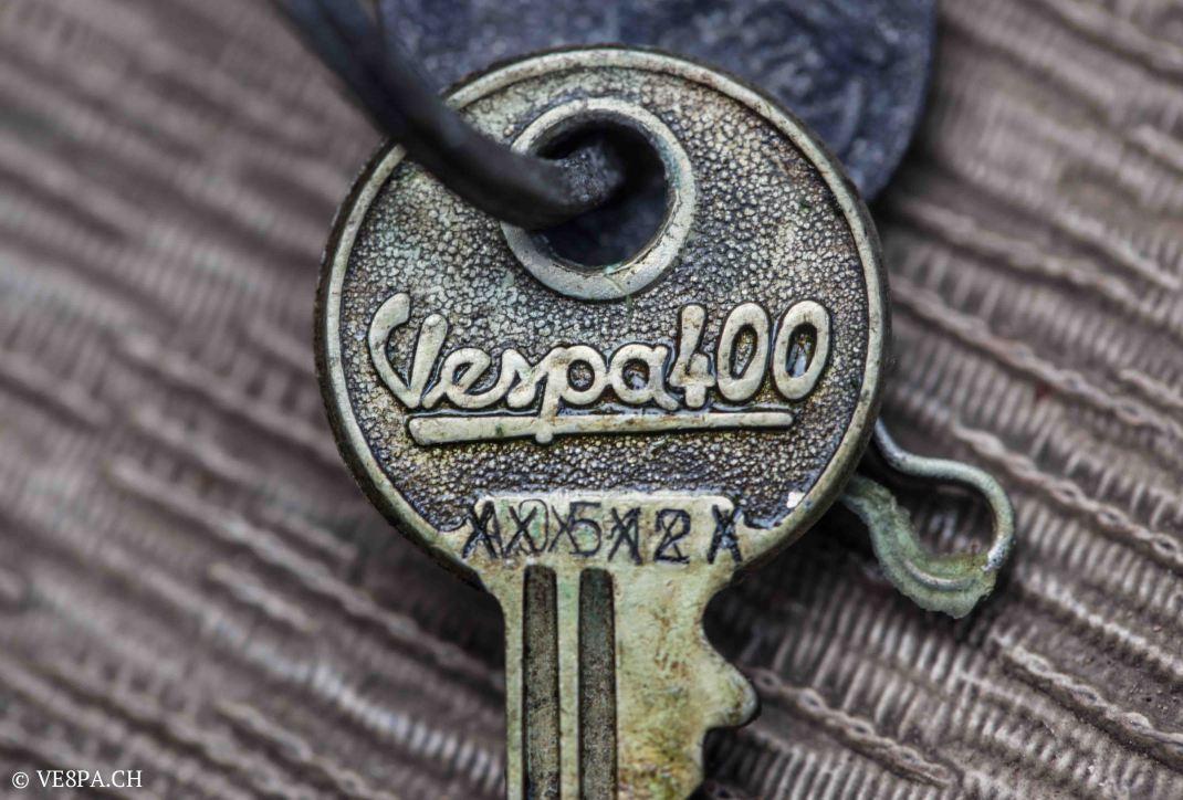 Vespa ACMA 400, 1958, O-Lack, Erstserie, www.VE8PA.CH-65