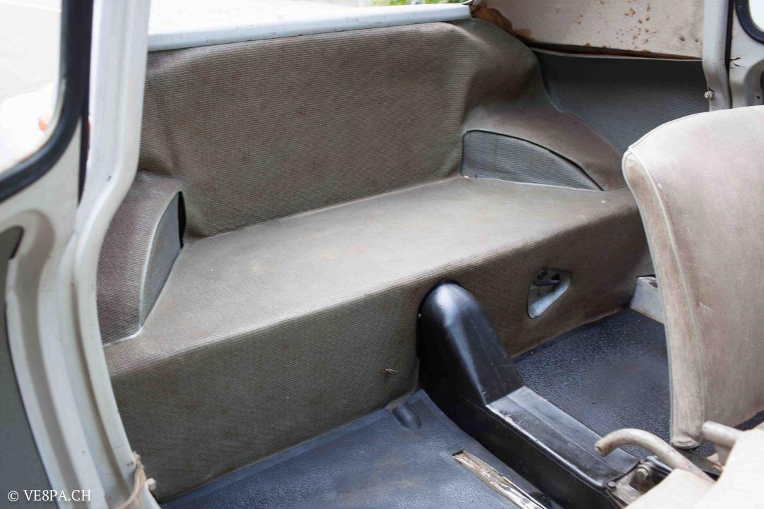Vespa ACMA 400, 1958, O-Lack, Erstserie, www.VE8PA.CH-68