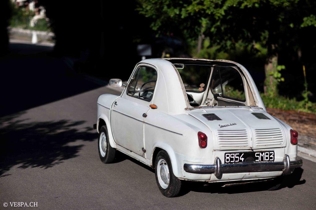 Vespa ACMA 400, 1958, O-Lack, Erstserie, www.VE8PA.CH-9