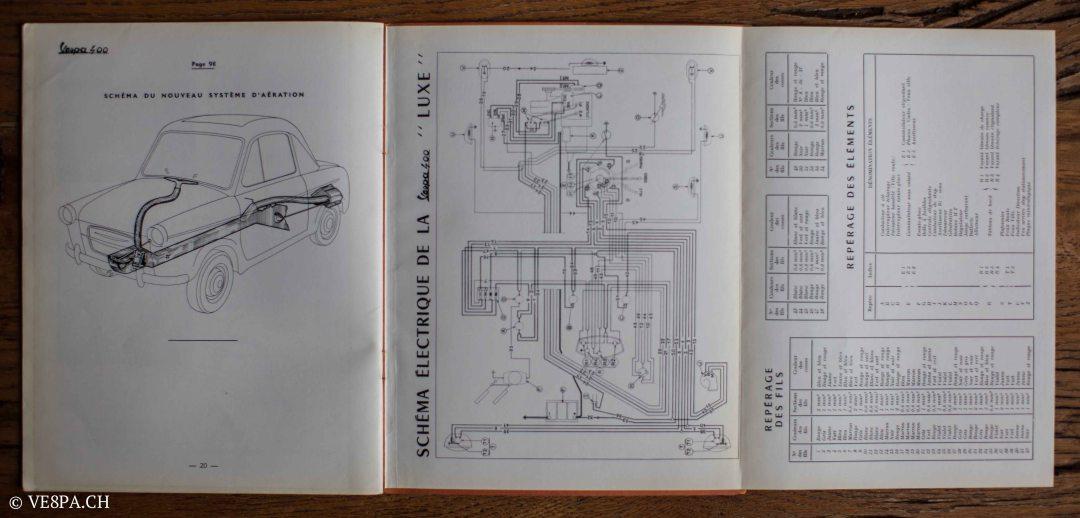 Vespa ACMA 400, 1958, O-Lack, Erstserie, www.VE8PA.CH-93
