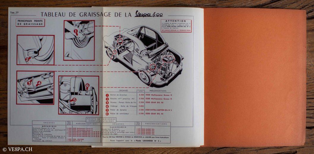 Vespa ACMA 400, 1958, O-Lack, Erstserie, www.VE8PA.CH-94