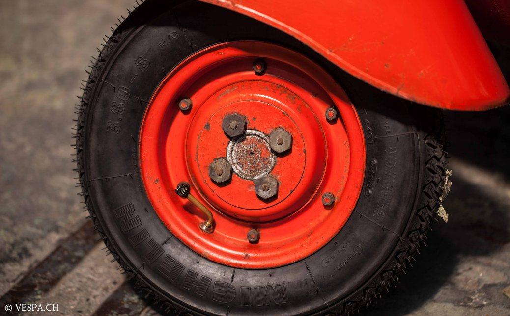 Vespa ACMA Typ N, 1960, 9535 KM, O-Lack, www.VE8PA.CH-14
