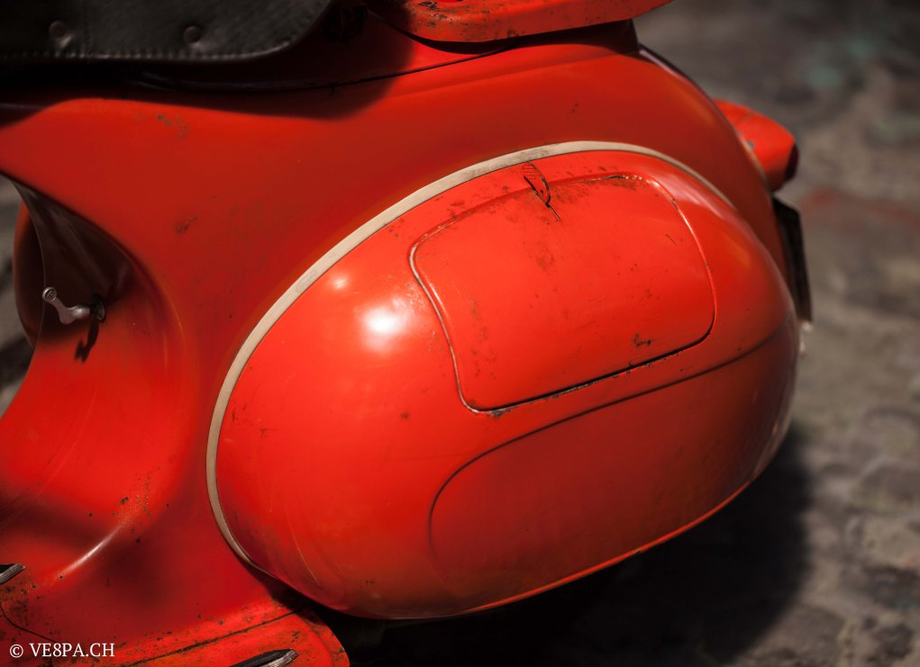Vespa ACMA Typ N, 1960, 9535 KM, O-Lack, www.VE8PA.CH-2-2