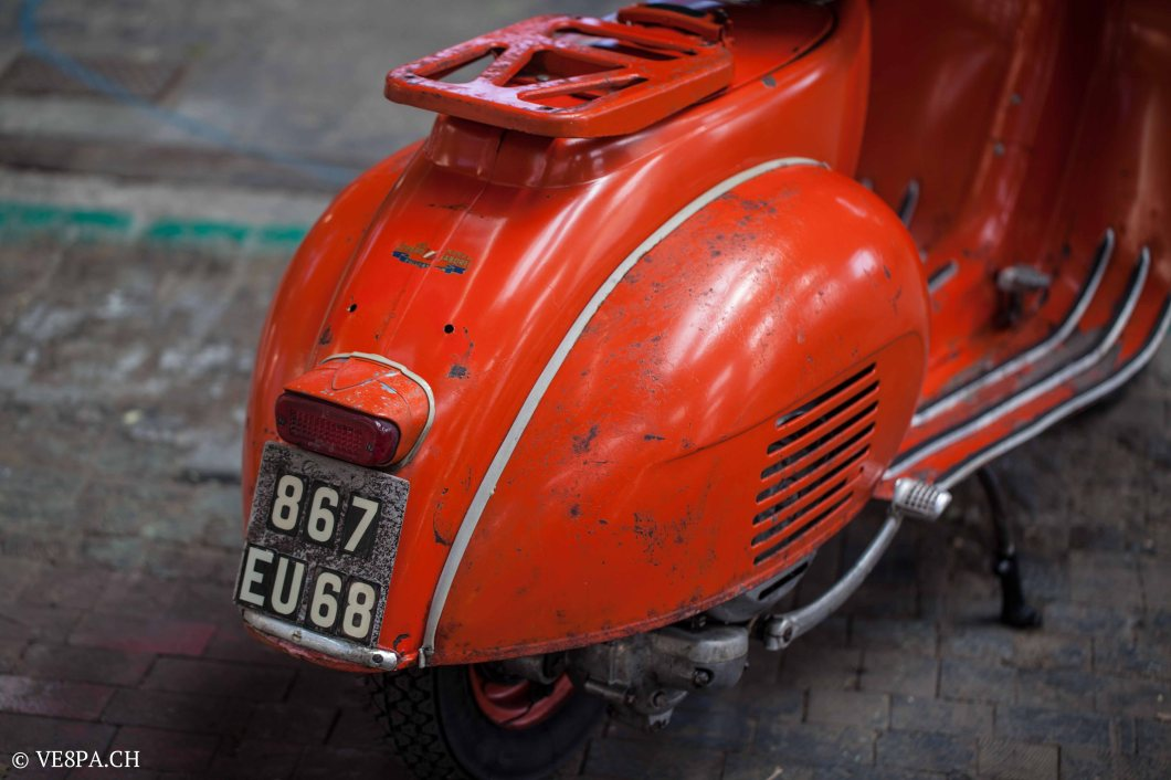 Vespa ACMA Typ N, 1960, 9535 KM, O-Lack, www.VE8PA.CH-35
