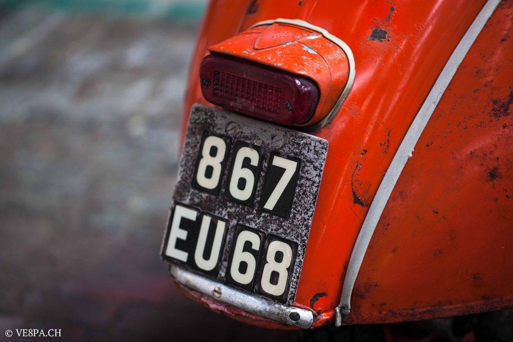 Vespa ACMA Typ N, 1960, 9535 KM, O-Lack, www.VE8PA.CH-41