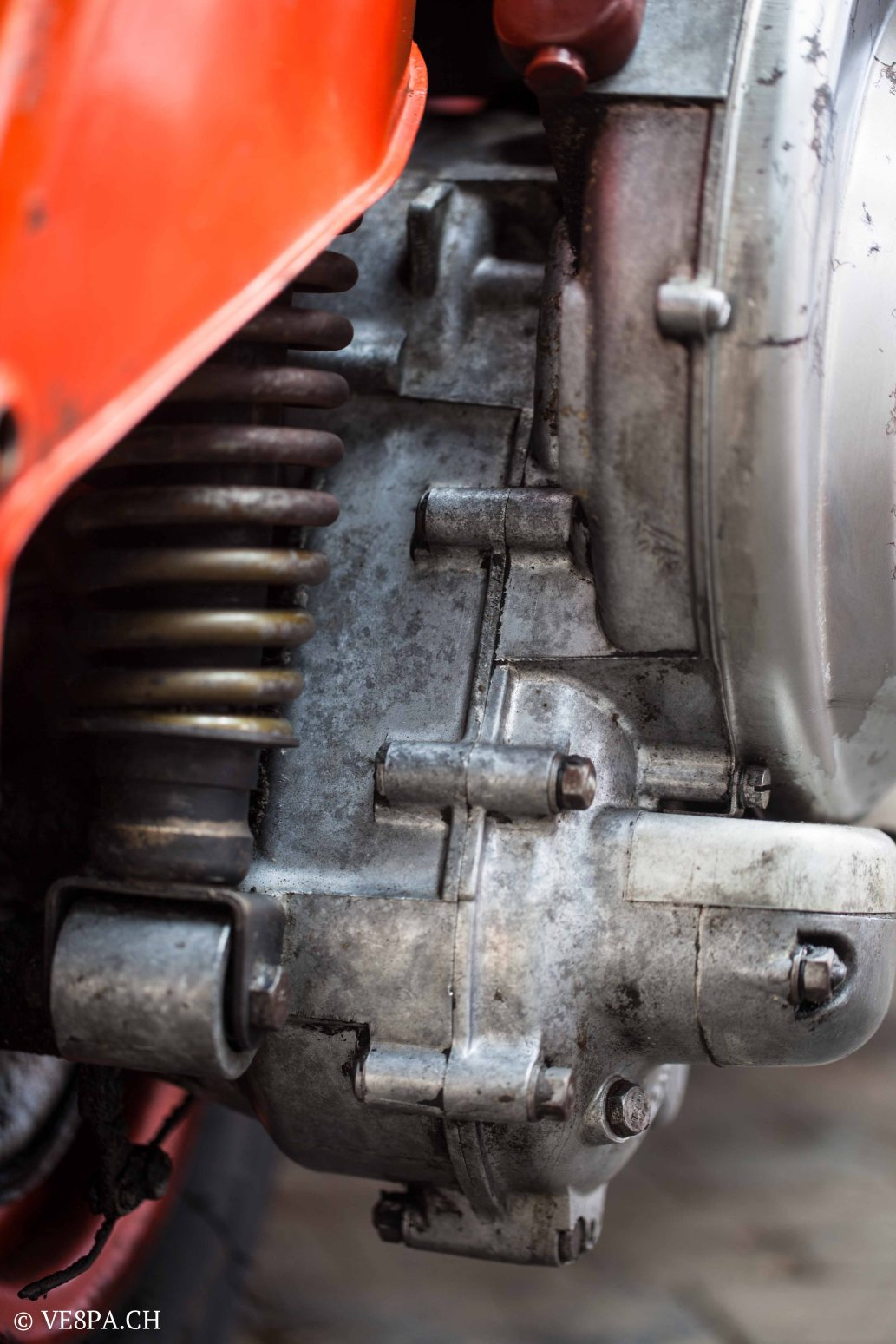 Vespa ACMA Typ N, 1960, 9535 KM, O-Lack, www.VE8PA.CH-45