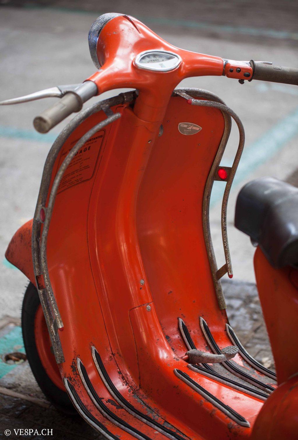 Vespa ACMA Typ N, 1960, 9535 KM, O-Lack, www.VE8PA.CH-47