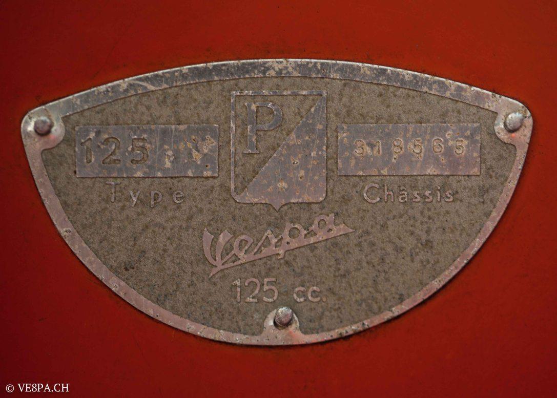 Vespa ACMA Typ N, 1960, 9535 KM, O-Lack, www.VE8PA.CH-49