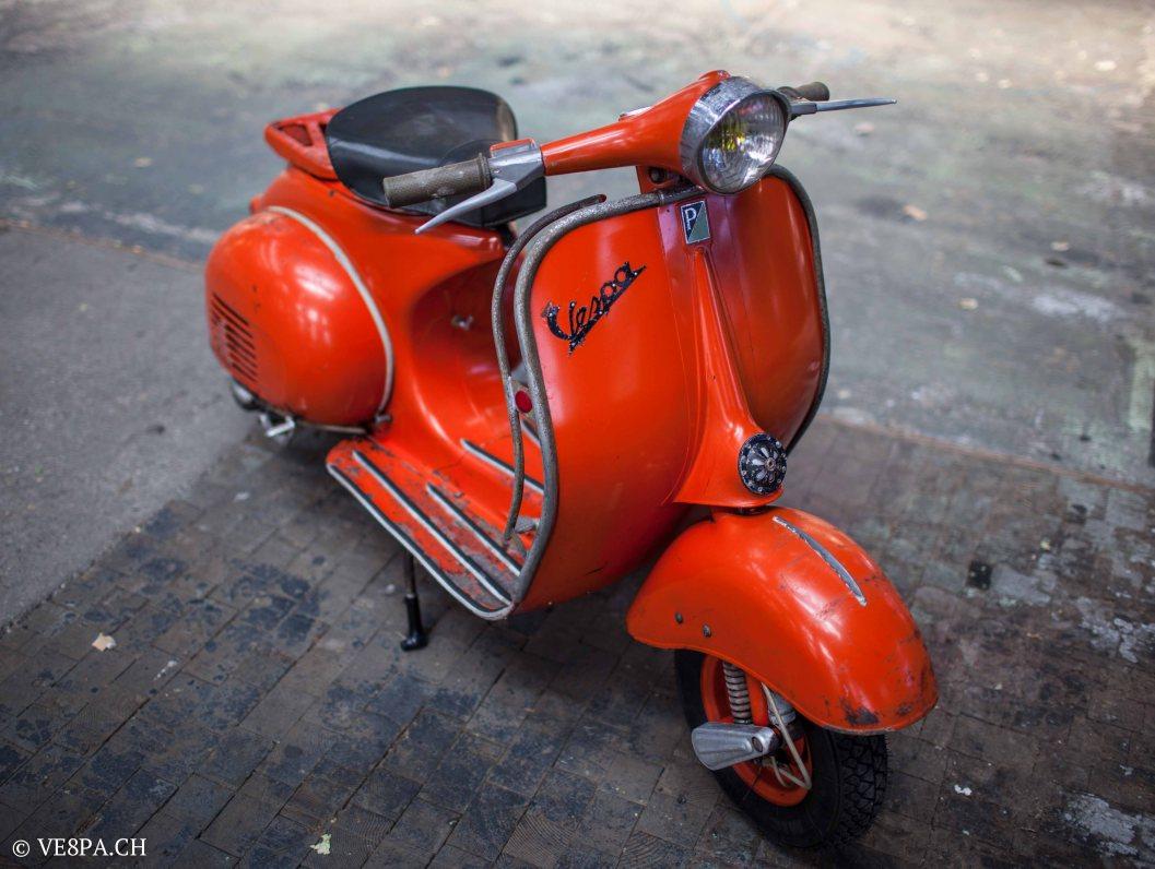 Vespa ACMA Typ N, 1960, 9535 KM, O-Lack, www.VE8PA.CH-53