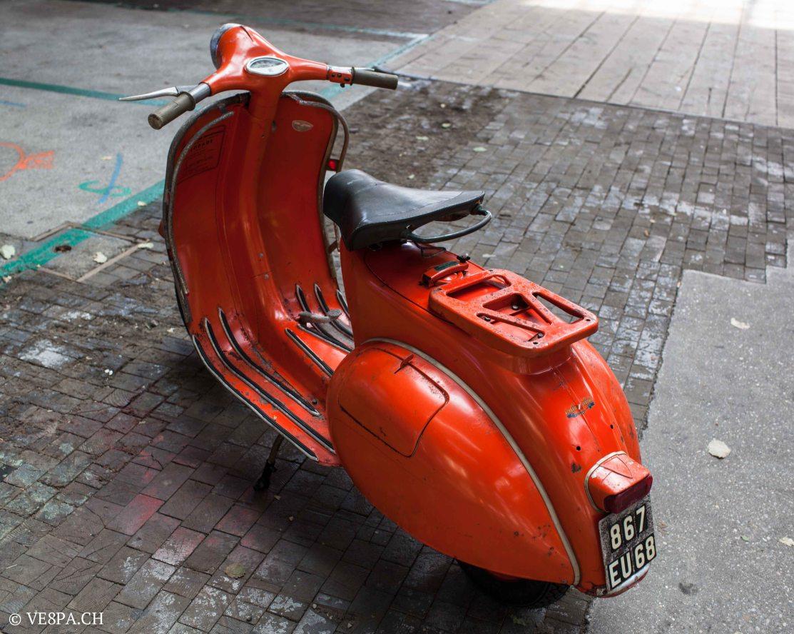 Vespa ACMA Typ N, 1960, 9535 KM, O-Lack, www.VE8PA.CH-56