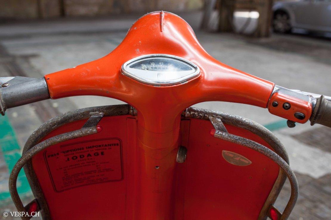 Vespa ACMA Typ N, 1960, 9535 KM, O-Lack, www.VE8PA.CH-58