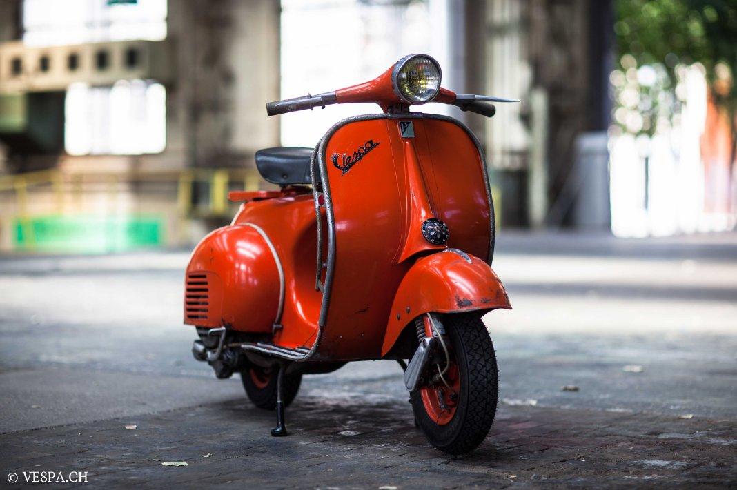 Vespa ACMA Typ N, 1960, 9535 KM, O-Lack, www.VE8PA.CH-60