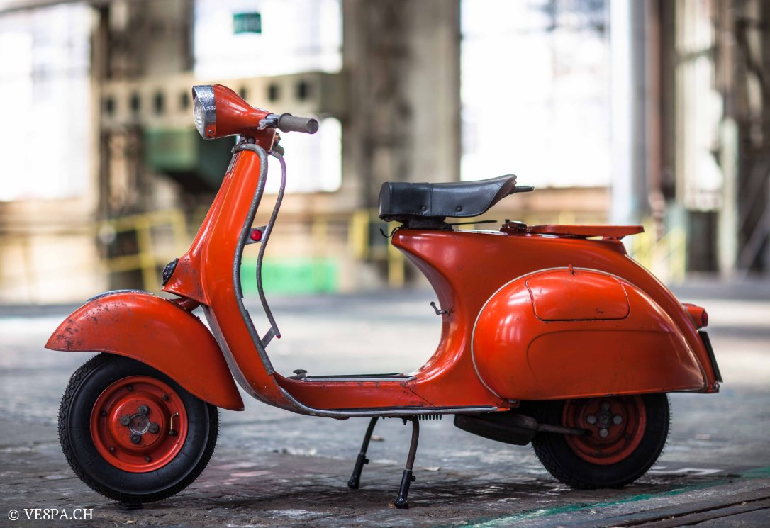 Vespa ACMA Typ N, 1960, 9535 KM, O-Lack, www.VE8PA.CH-67